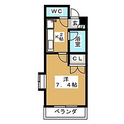 シティライフ覚王山[2階]の間取り