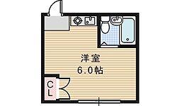 シェトワ阪南[403号室]の間取り