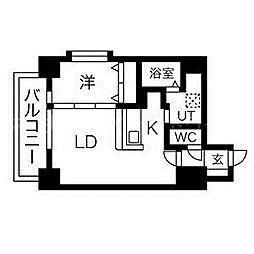 FIOORE[4階]の間取り
