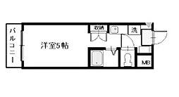 第2コスモ大和[A302 3/13リフォーム中号室]の間取り