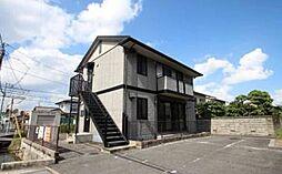 岡山県岡山市北区青江5丁目の賃貸アパートの外観