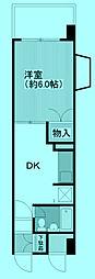 カーサマデラ[4階]の間取り