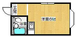 大阪府大阪市西淀川区柏里3丁目の賃貸マンションの間取り