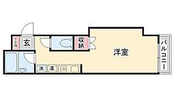 兵庫県神戸市灘区篠原台の賃貸マンションの間取り