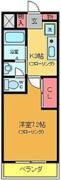 リコルドアヤセ[3階]の間取り