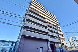神奈川県厚木市東町の賃貸マンションの外観