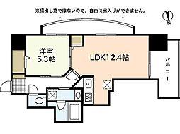 BAUHAUS otemachi NO.17[2階]の間取り