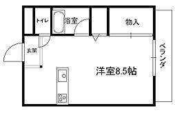 プチメゾンFuji _[2階]の間取り