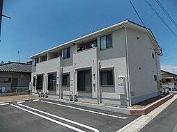 鹿児島県曽於市末吉町上町3丁目の賃貸アパートの外観