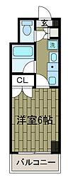 三敬ビル[2階]の間取り