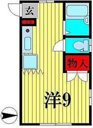パル・ナカムラ[2階]の間取り