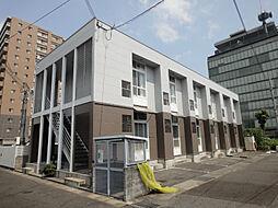 滋賀県大津市中央4丁目の賃貸アパートの外観