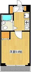 センチュリー川崎高津[2階]の間取り