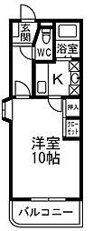 サヒタリオ[3階]の間取り