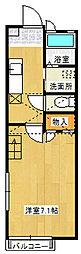 BEE HOUSE[103号室]の間取り