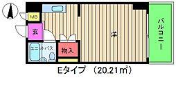 グレイスフル中崎II[8階]の間取り