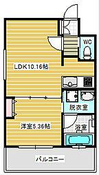 プレジオ南堀江[7階]の間取り