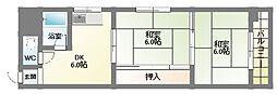 清川ビル[9階]の間取り