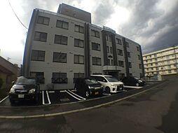 北海道札幌市豊平区月寒東一条10丁目の賃貸マンションの外観