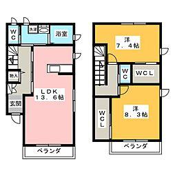 FELICE II[1階]の間取り