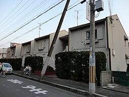 大阪府茨木市玉櫛2丁目の賃貸アパートの外観