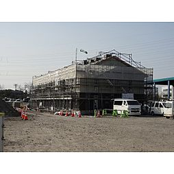 富山県射水市片口の賃貸アパートの外観