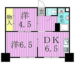 Maison de Merci(メゾンドメルシー)[6階]の間取り