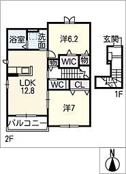 マジェスタ II棟[2階]の間取り