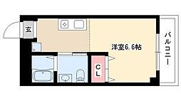 愛知県名古屋市南区宝生町4丁目の賃貸マンションの間取り