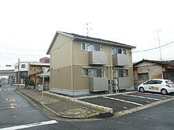 茨城県水戸市浜田2丁目の賃貸アパートの外観
