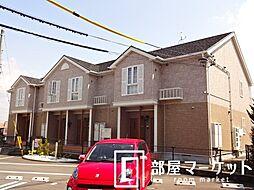 愛知県豊田市新町4丁目の賃貸アパートの外観