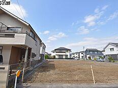 6号地(写真左手前)付近 現地写真 東村山市富士見町3丁目