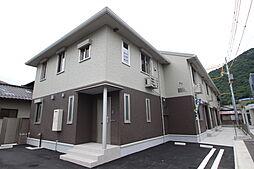広島県広島市安佐北区可部南4丁目の賃貸アパートの外観
