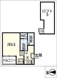 グレイスガーデン[1階]の間取り