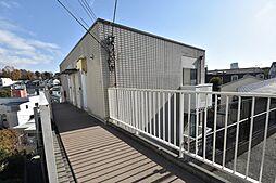大倉山ハイツC棟[102号室]の外観
