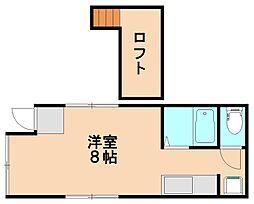 ちとせアパート[2階]の間取り