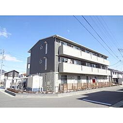 長野県長野市川中島町上氷鉋の賃貸アパートの外観