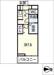シャイン コート カミサワ[2階]の間取り