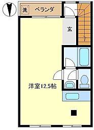 ルネ武里A 302[3階]の間取り
