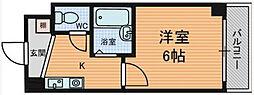 淡路ハイツ[8階]の間取り