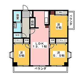 ナビシティ大須II 1206[12階]の間取り