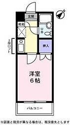 サンノーブル勝田台[3階]の間取り