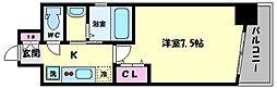 TOYOTOMI STAY PREMIUM ABENO天王寺(トヨトミステイプレミアムア 14階1Kの間取り