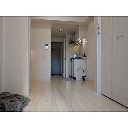 ポルタニグラ大須の寝室と生活スペースが分けられます