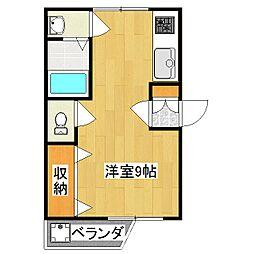 エンピツ2[2階]の間取り
