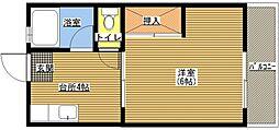 メゾン松香[303号室]の間取り