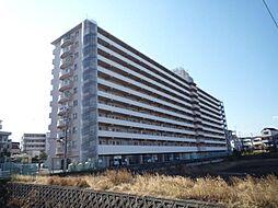 狭山レークハイツ第二号棟[6階]の外観