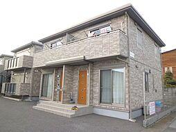 栃木県真岡市荒町2丁目の賃貸アパートの外観
