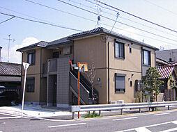 大阪府高石市羽衣1丁目の賃貸アパートの外観