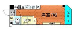 大阪府大阪市西区九条3丁目の賃貸マンションの間取り